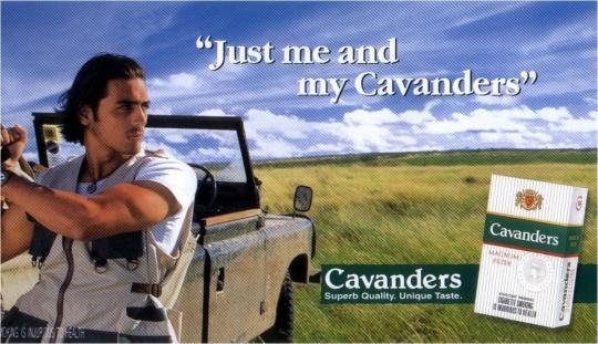 Arjun Rampal in Cavanders Ad