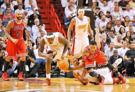 Heat Beat Bulls, Spoil Rose Return