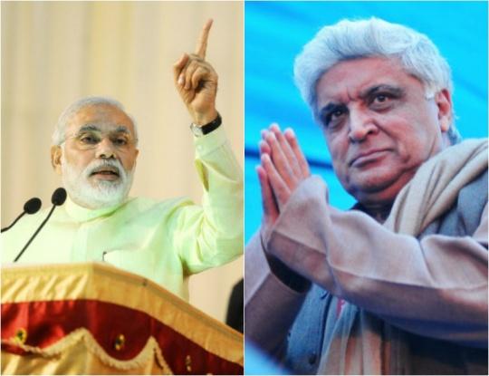 Narendra Modi and Javed Akhtar