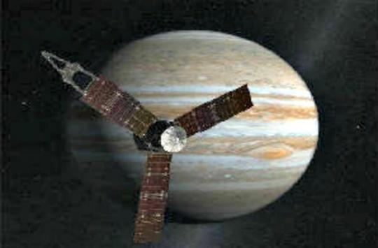 Jupiter-Bound Craft