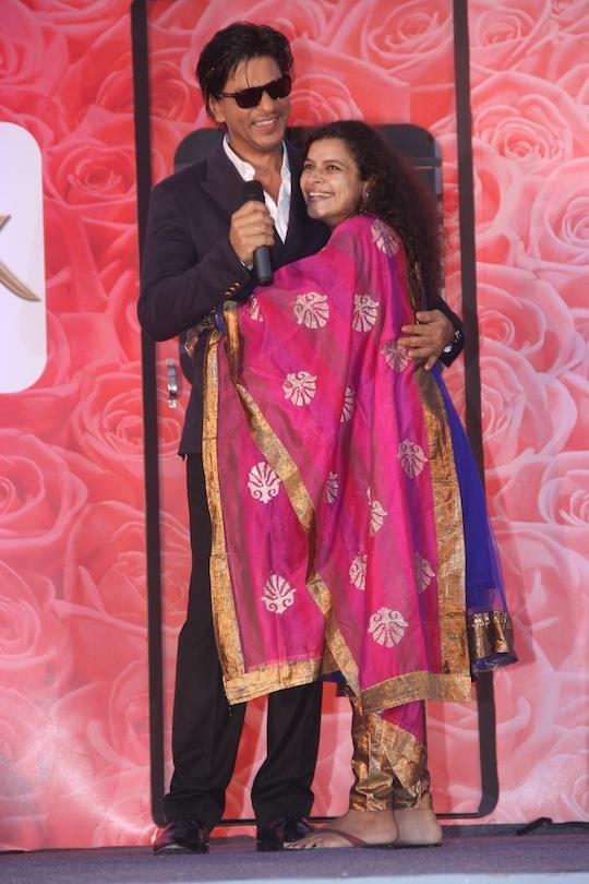 SRK with the winner