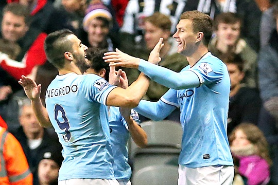 Man City Edge Newcastle in League Cup