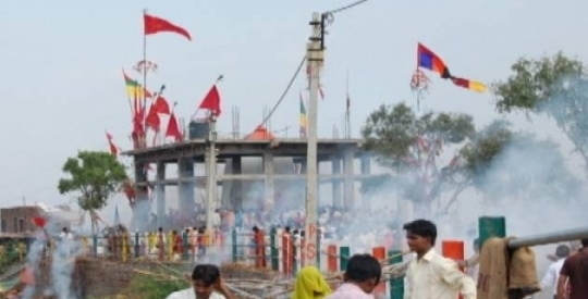 Temple Stampede in MP