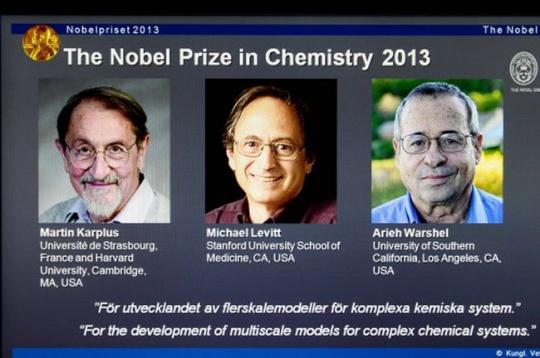 2013 Nobel Prize in chemistry