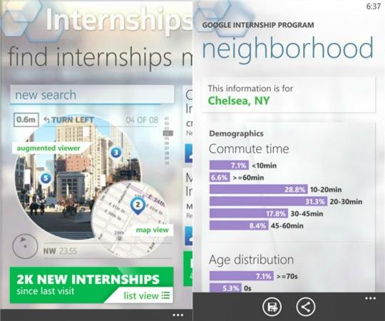 Nokia Internship Lens