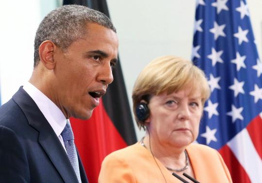 President Barack Obama, Angela Merkel