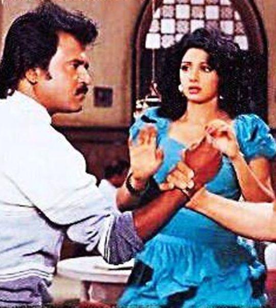 When Sridevi spat on Rajinikanth!