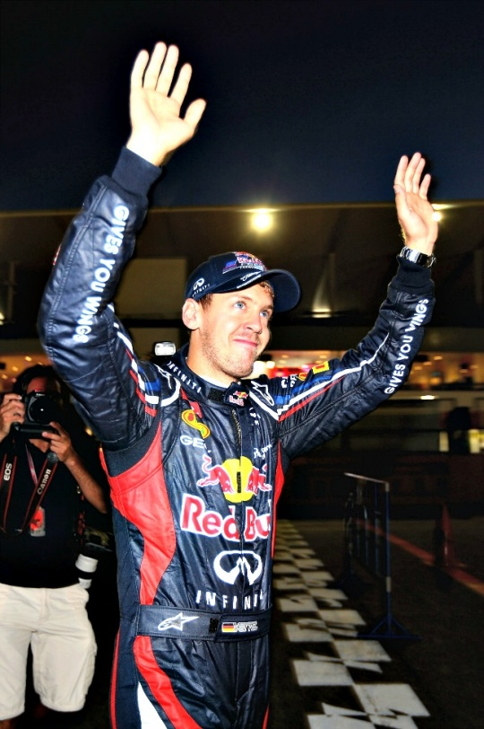 Vettel Eyes Double Delight at Indian GP