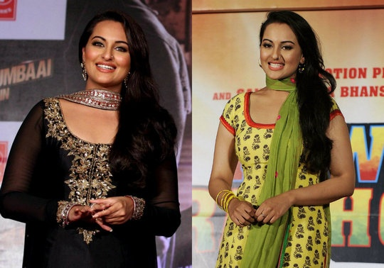 Sonakshi Sinha for OUATIMD and Rowdy Rathore