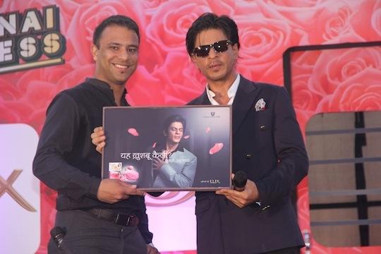 Swarnim Bharadwaj-Senior Brand Manager LUX, Shah Rukh Khan
