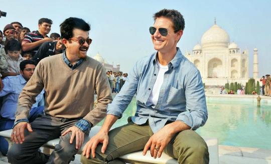 Anil Kapoor, Tom Cruise