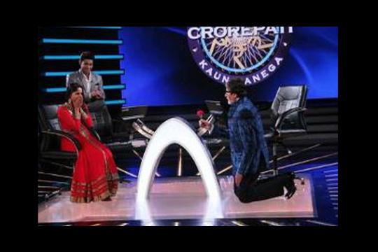 Amitabh Proposes to Sangeeta Ghosh!