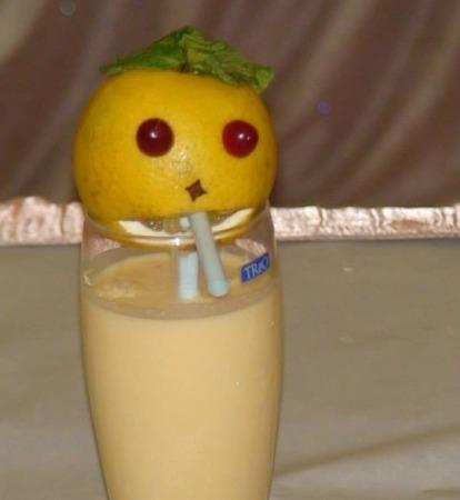 Healthy Drink: Orange Yogurt Smoothie Recipe