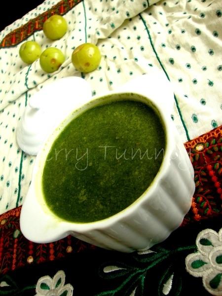 Healthy Indian Recipe: Amla Coriander Chutney