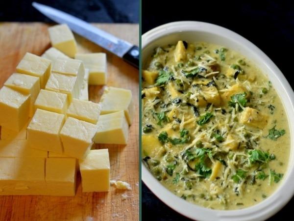 Healthy Recipes: Methi Paneer Recipe
