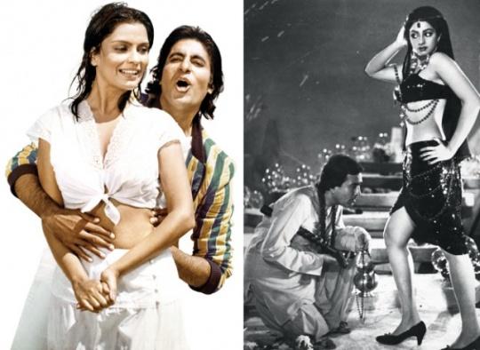Zeenat Aman, Amitabh Bachchan, Rajesh Khanna, Sridevi