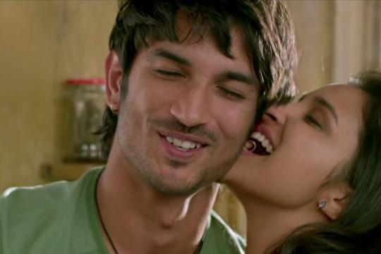 Sushant Singh Rajput with Parineeti Chopra in Shuddh Desi Romance