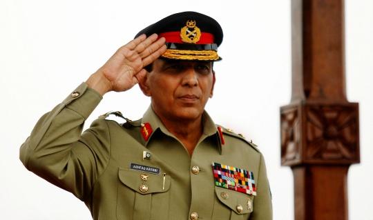 Pakistan Army chief Gen Ashfaq Parvez Kayani