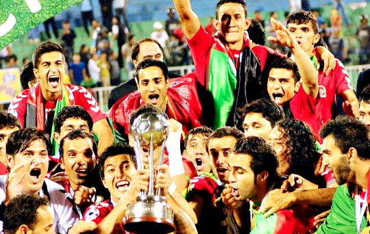 Afghans Stun Defending Champs India