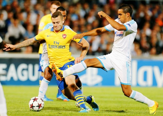 Arsenal Beat Marseille 2-1 in Group F