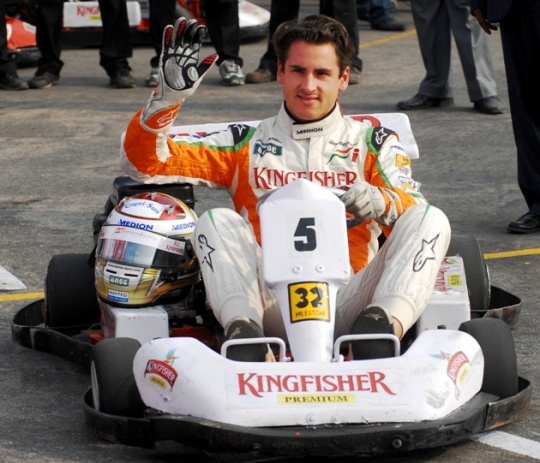 Sutil Surprised at Indian GP's 2014 Axe