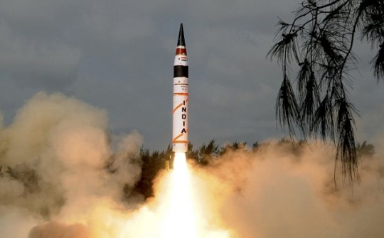 Agni-V Missile Successfully Test Launched