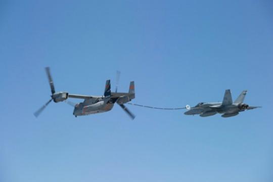 Bell Boeing V-22 Osprey Test Aerial Refueling
