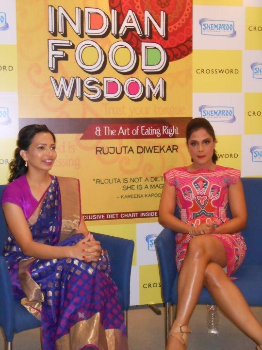Richa Chadha With Rujuta