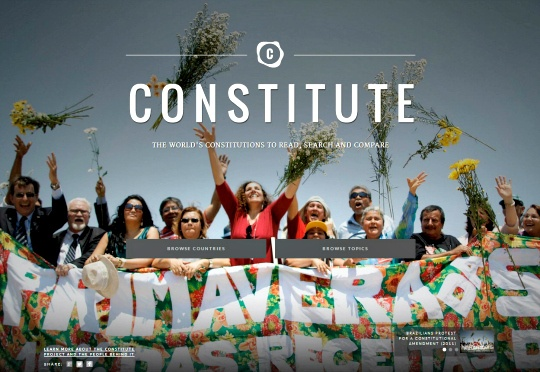 Google Launches Online Constitution Archive