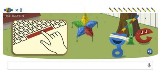 Google 15 Birthday Doodle