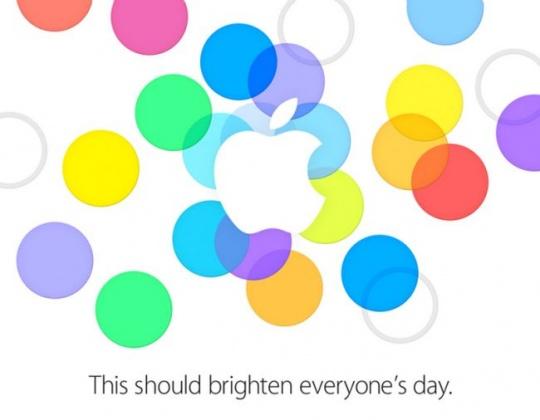 iPhone 5S Event Invite