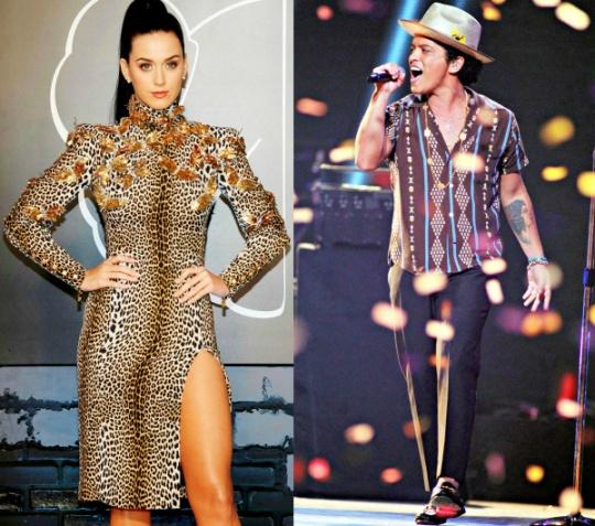 Katy Perry, Bruno Mars