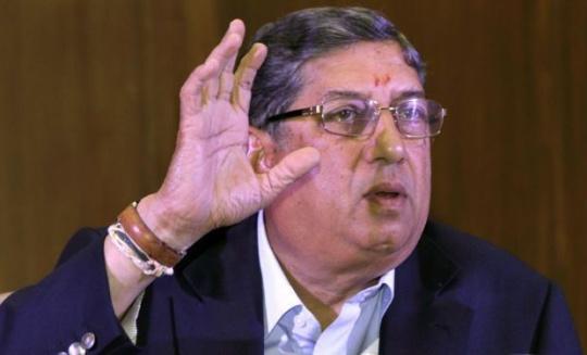 N Srinivasan Re-elected BCCI Chief