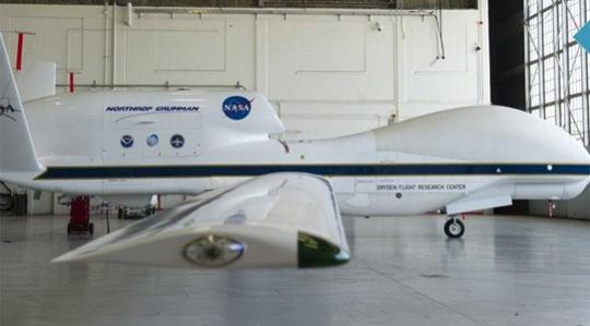 NASA Global Hawk unmanned aerial vehicle