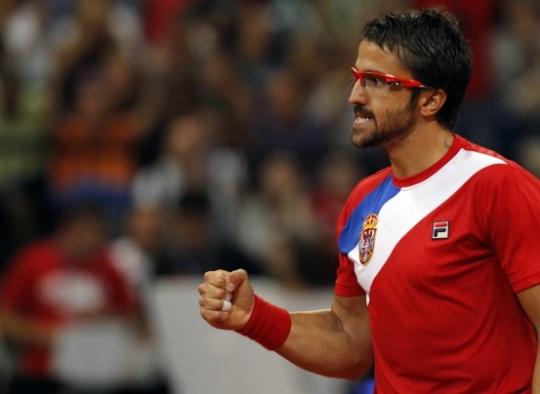 Serbia, Canada Tied 1-1 in Davis Cup