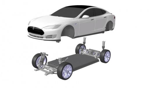 Tesla Enters Race to Build Autonomous Car