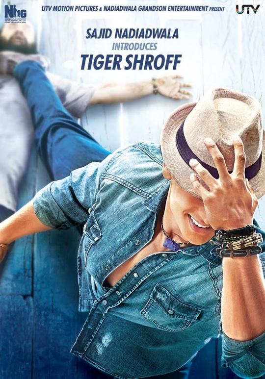 Tiger Shroff in Heropanti