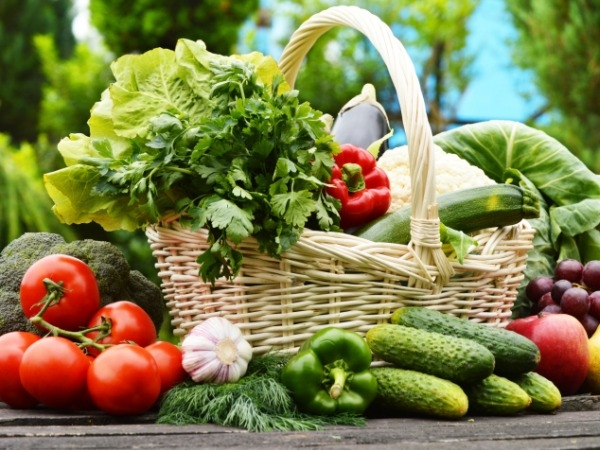 Summer Vegetables As Cooling Foods