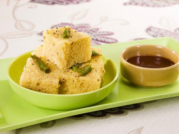 Healthy Breakfast: Makai Ka Dhokla