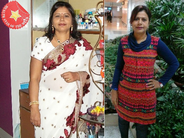 Health Star Of The Week:  Housewife On A Weight Loss Mission
