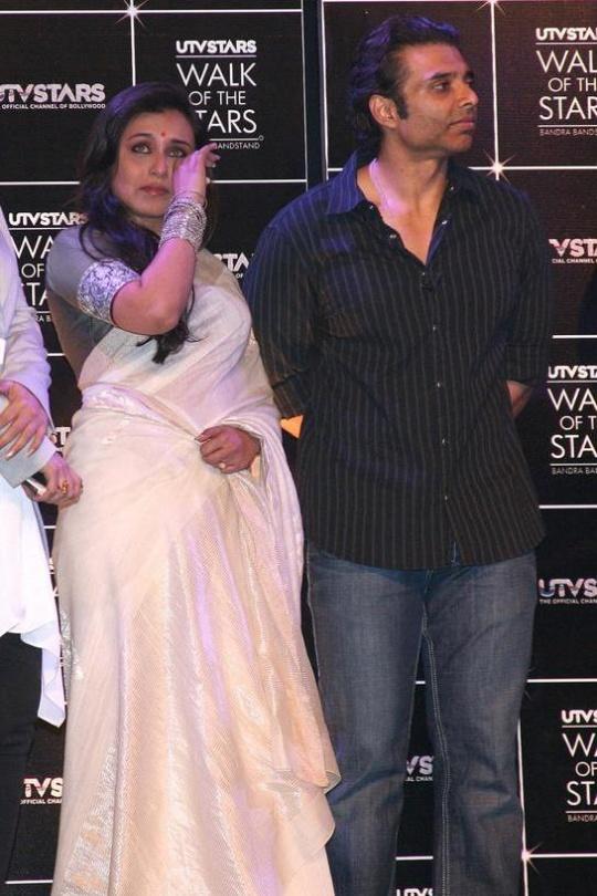 Uday Chopra and Rani Mukerji