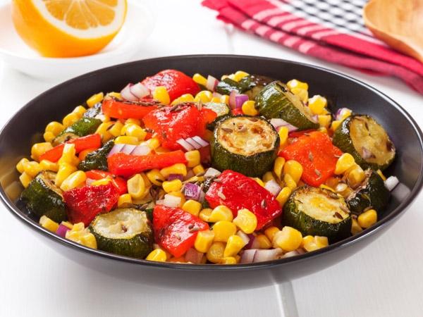 Delicious Diabetic Recipe: Burnt Corn Salad