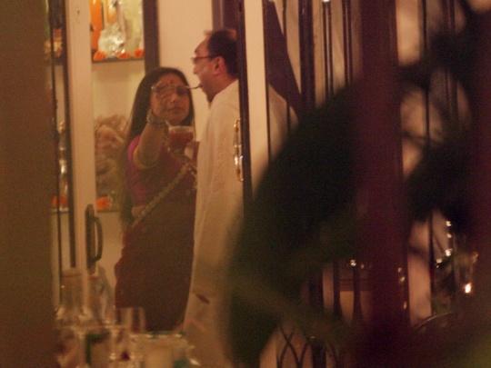 Aditya Chopra and Rani Mukerji