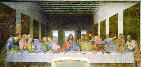 The Last Supper's unlucky 13th seat