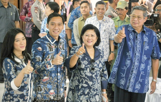 Indonesians Vote for New Parliament