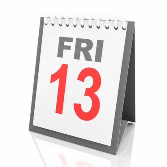 Is it Friday or Tuesday the 13th?