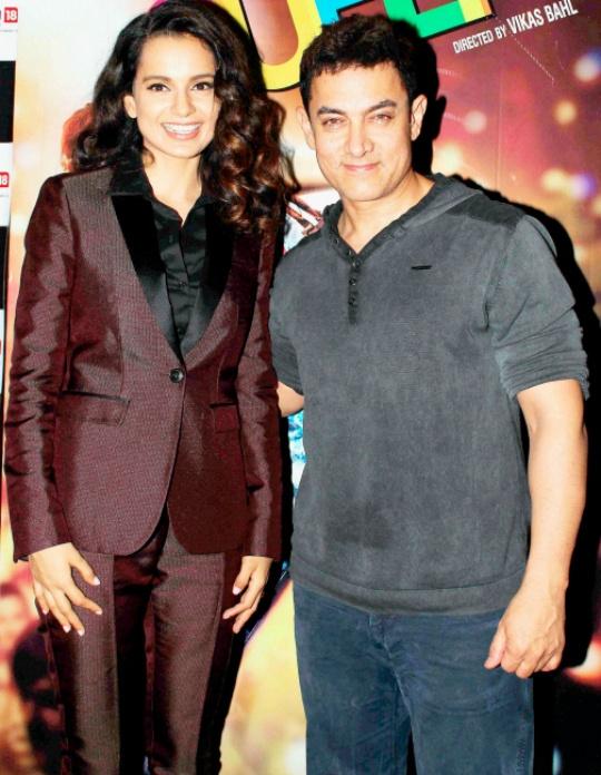 Kangana Ranuat, Aamir Khan