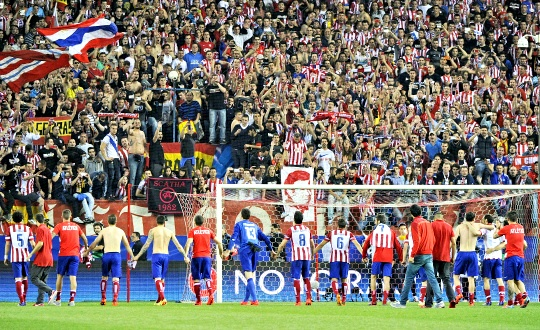 Atletico Madrid Beat Barcelona