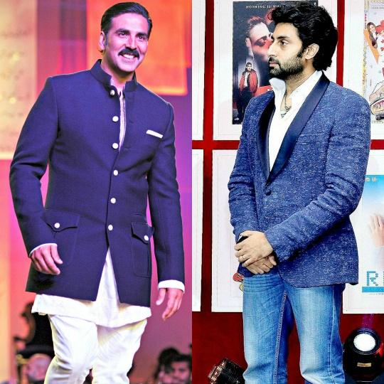 Akshay Kumar, Abhishek Bachchan