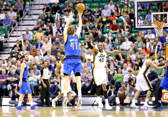 Nowitzki and Steve Nash Make NBA History